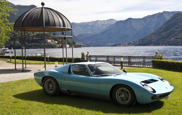Classic Car Rental Lake Como